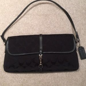 Black Signature Coach Bag